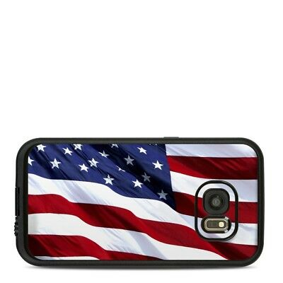 Skin for LifeProof FRE Galaxy S7 - Patriotic by Flags - Sticker Decal