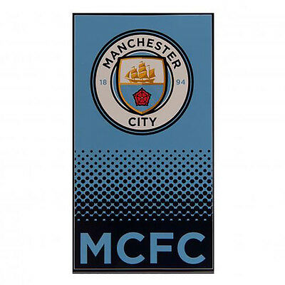 Manchester City F.C - Beach Towel (FD) - GIFT  / HOLIDAY