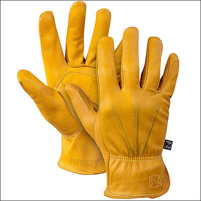 Large Noble Outfitters Cheyenne Goatskin Leather Horse Riding Roping Glove