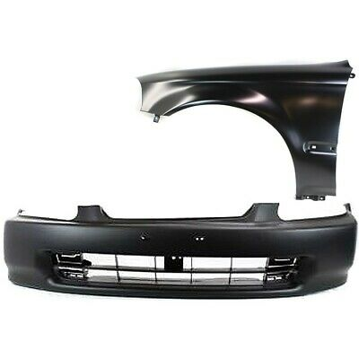 New Kit Auto Body Repair Front for Honda Civic 1996-1998