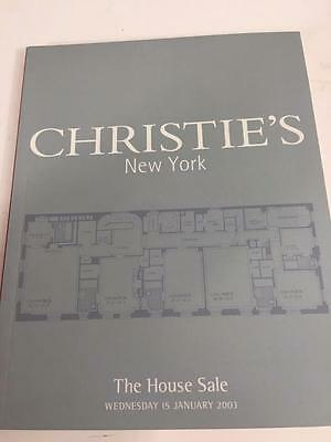 Christie's NY House Sale Auction Catalog January 15 2003 Asian Art Rugs Antique