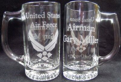 Personalized engraved Service Man or Military Mug