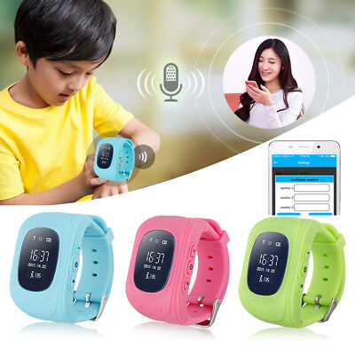 Anti-lost Children Smart GPS Positioning Wrist Watch Q50 For Android IOS