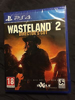 * Playstation 4 * NEW SEALED Game * WASTELAND 2 - DIRECTOR'S CUT * PS4