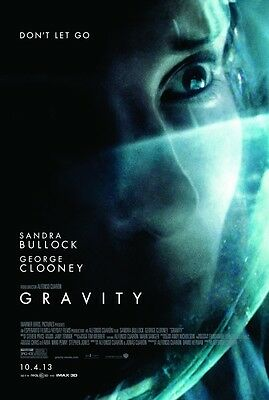 Gravity  - original DS movie poster 27x40 D/S Style B - Sandra Bullock