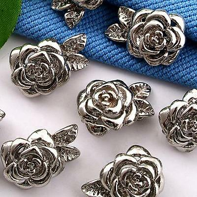 5 X Bracelet Necklace Clasp Magnetic Buckle Hook Rose CHIC