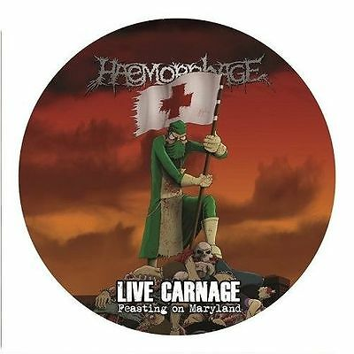 HAEMORRHAGE - Live Carnage - Feasting On Maryland  [Ltd.Pic-LP] PICDISC