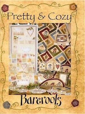 Bare Roots Pretty And Cosy Quilt & Stitchery Book (BKBR169)