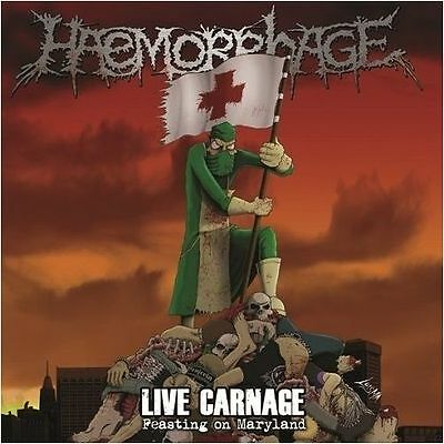 HAEMORRHAGE - Live Carnage - Feasting On Maryland CD
