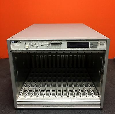 HP/Agilent E8404A High-Power VXI Mainframe Chassis **Sale**
