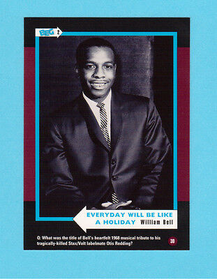 William Bell Soul Music Collector Card  Have a Look!