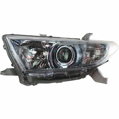 Halogen Headlight For 2011-2013 Toyota Highlander Left