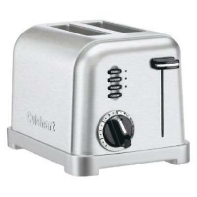 Cuisinart 2 Slice Metal Classic Toaster CPT-160 Factory Reconditioned