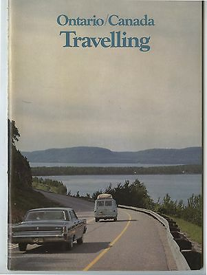 Old 1960's Ontario Canada Travelling Guide Book
