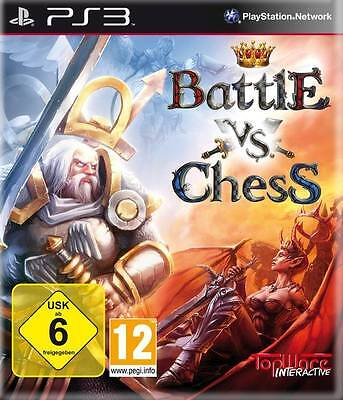 Battle Vs Chess Sony PlayStation 3 PS3 Brand New