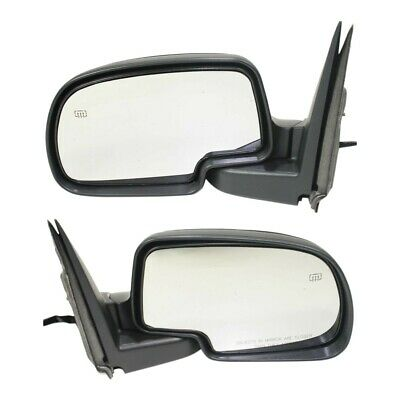 2 Power Textured Side Mirror Fits 98-2001 2002 2003 2004 Nissan Frontier Pair