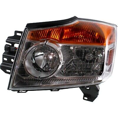 Headlight For 2008-2012 2013 2014 2015 Nissan Armada Left With Bulb