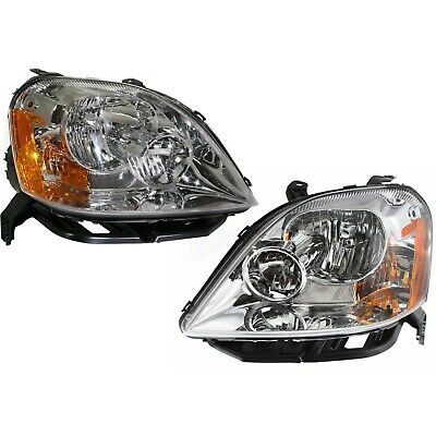 Headlight For 2005 2006 2007 Ford Five Hundred Limited SEL Models Left With Bulb