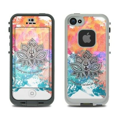 Skin Kit for LifeProof FRE iPhone 5S - Happy Lotus - Sticker Decal