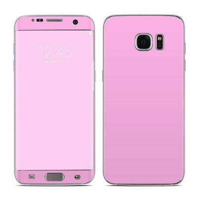Galaxy S7 Edge Skin - Solid State Pink - Sticker Decal