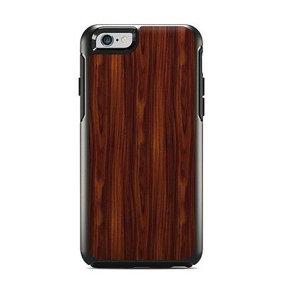 Skin for Otterbox Symmetry iPhone 6/6S - Dark Rosewood - Sticker Decal