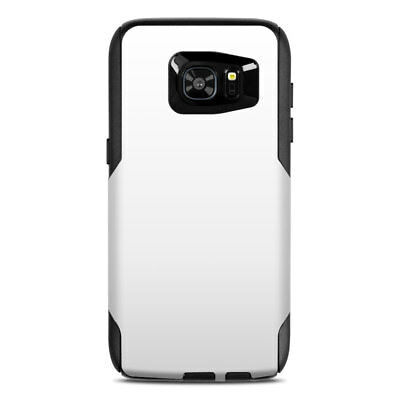 Skin for Otterbox Commuter Galaxy S7 Edge - Solid White - Sticker