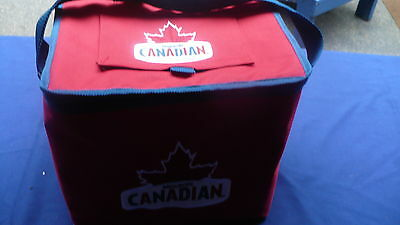 "Molson Canadian soft sided beer insulated cooler lunch bag style 11"" X 9"" X 10"""