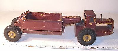 Nylint Tourahopper Earth Mover Pressed Steel Construction Toy