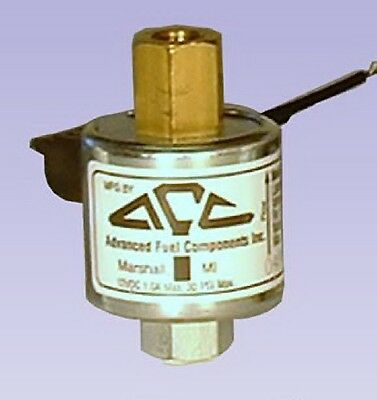 AFC-111 Advanced Fuel Components Solenoid Shut Lock Off Valve Model 12 VOLT