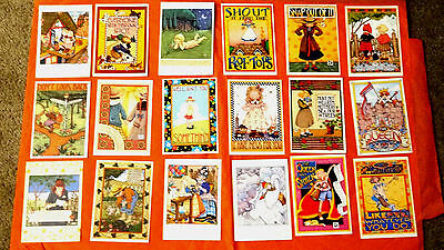 Vintage Mary Engelbreit Greeting Cards Mint Condition Bundle Hot Sellers !