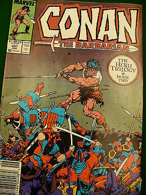 Marvel Conan the Barbarian Comics comic book Vol 1 No 207 June 1988