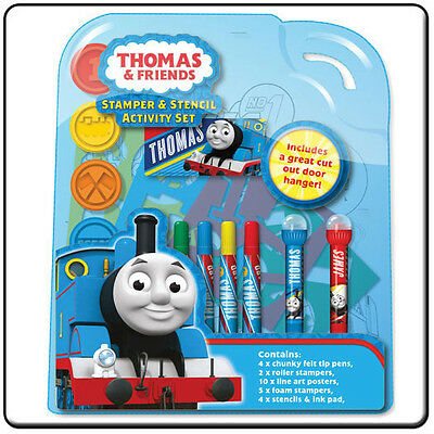 Thomas and Friends Stamper & Stencil Activity Set