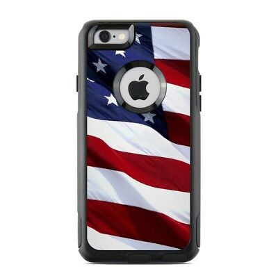 Skin for Otterbox Commuter iPhone 6/6S - Patriotic by Flags - Sticker Decal
