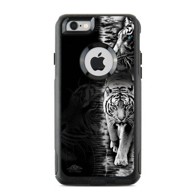 Skin for Otterbox Commuter iPhone 6/6S - White Tiger - Sticker Decal