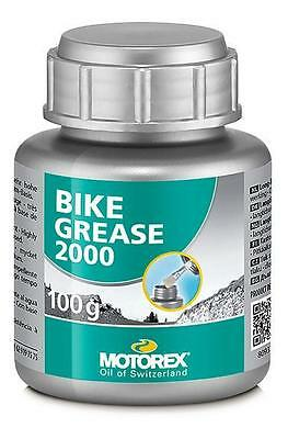 Fett Vollsynthetisch Motorex Bike Grease 100G