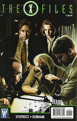 The X Files#1 (NM)`09 Spotnitz/ Denham  (Cover A)