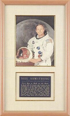 Collectibles Apollo 11 Signed Neil Armstrong July 16 1969 Cover Nasa Space Not Insurance