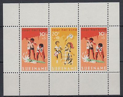 Suriname 1966 ** Bl.6 Kinder Children Feste Celebrations Feiertage [sq4876]