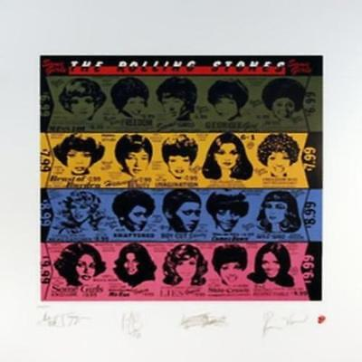 Rolling Stones Some Girls Limited Edition Lithograph Art Poster Print