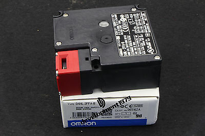 1Pcs Omron Safety Door Switch D4NL-2FFA-B New In Box