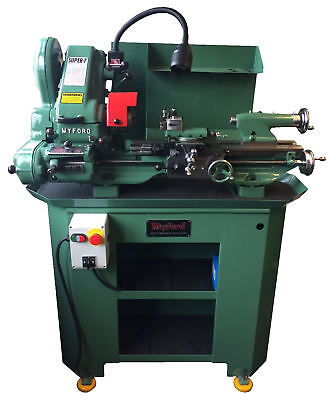 Refurbished Myford Super 7 Lathe (Power Cross Feed) With Gear Box Reconditioned