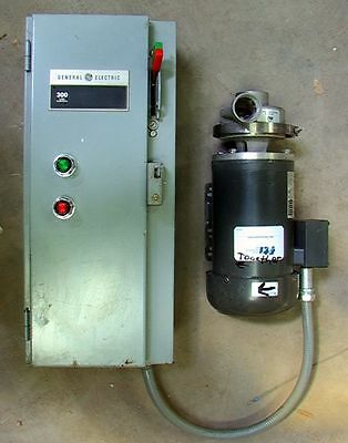 3 hp Centrifugal Magnetic Drive Pump, 316 stainless, 88.5 Feet of Head, 145 gpm