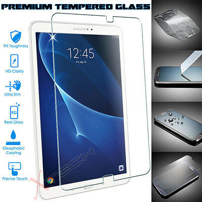 "Genuine TEMPERED GLASS Screen Protector For Samsung Galaxy Tab A 10.1"" (SM-T580)"