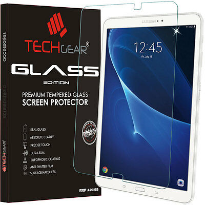 TECHGEAR TEMPERED GLASS Screen Protector For Samsung Galaxy Tab A 10.1 (SM-T585)