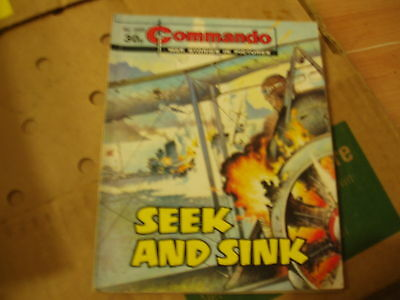 COMMANDO-GRAPHIC WAR STORIES-No:2255-SEEK AND SINK