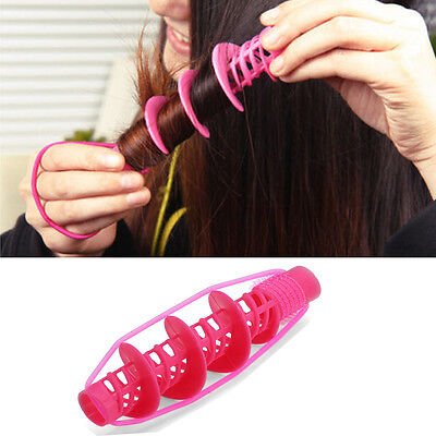 Speedy Hair Styling Tools Curlers Magical Big Wave Curls Rollers Manual Hot