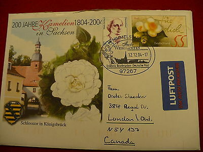 First Day Cover FDC German 200 year anniverary Schlosstor Konigsbruck P31