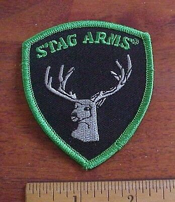 Stag Arms Logo Firearms Iron-On Patch