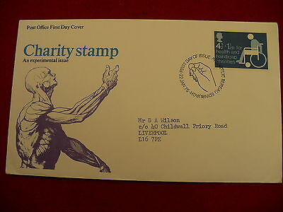Charity Stmamp experimental issue 1975  FDC day of issue #p86