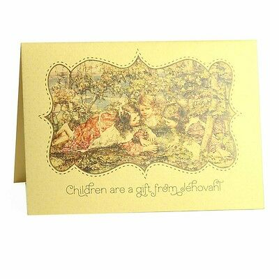 Children are a gift! - Psalm 127:3 - (Scriptural Greeting Card) Ministry Ideaz